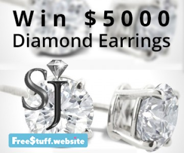 Win $5000 Diamond Earrings