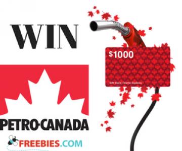 Win a $1,000 Petro-Canada Gift Card