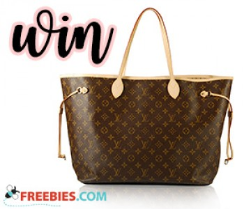 Win a Louis Vuitton Never Full Tote