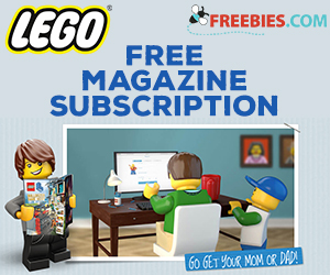 Get a Free Two Year Subscription to Lego Magazine