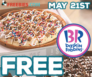 Free Slice of Ice Cream Pizza