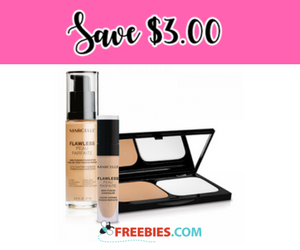 Save $3 off MARCELLE Flawless Foundations or Concealers