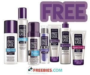 Free John Frieda Sample Pack