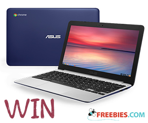 Win an ASUS Chromebook