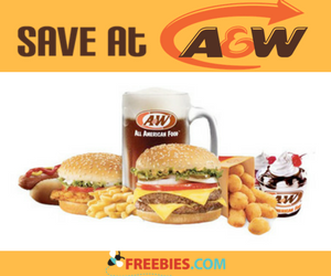 Save at A&W