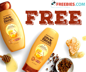 Free Sample of Garnier Whole Blends Moroccan Argan & Camelia Oil