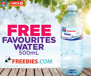 Free Water Bottle From Circle K
