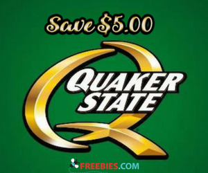 Save $5 off Your Next Quaker State Oil Change