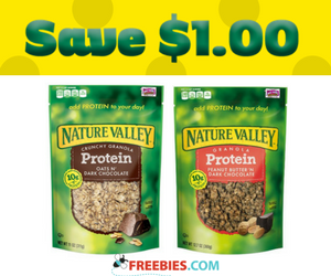 Save $1 off Nature Valley Granola