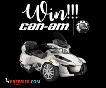 Win a Can-Am or Sea-Doo Vehicle