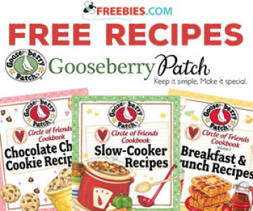 Download Free Recipes from Gooseberry Patch