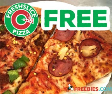 Free Slice of Pizza with The Freshslice App