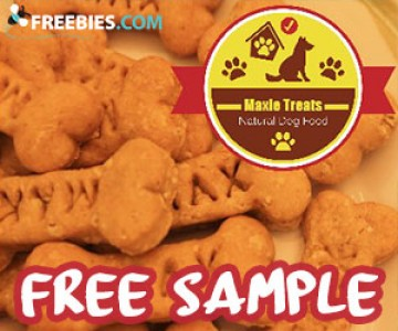 Free Sample of Maxie Natural Dog Treats