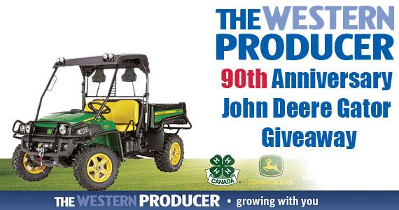 90th Anniversary John Deere Gator Giveaway