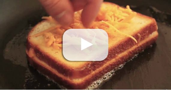Must Try: Inside-Out Grilled Cheese Sandwich