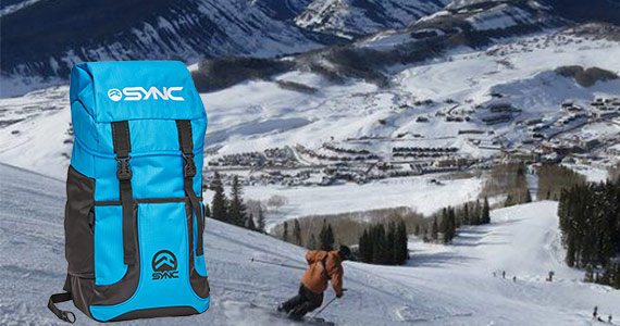 Win a Ski Trip to Crested Butte & Sync Backpack
