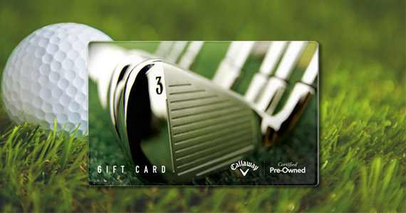 Win a $500 Callaway Golf Pre-Owned Gift Card