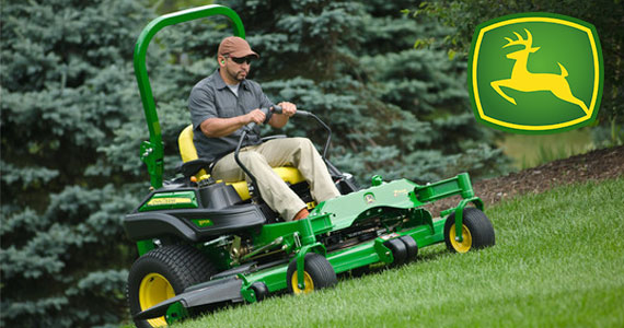 August 31 – Win a John Deere Z915 Riding Lawn Mower