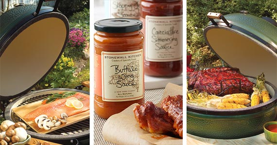 Win a Big Green Egg Grill & Stonewall Kitchen Gift Card