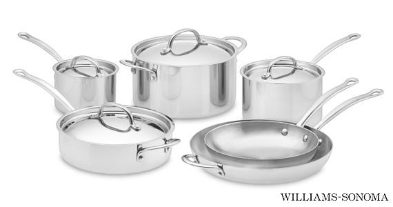 Win a 10-Piece Williams-Sonoma Cookware Set