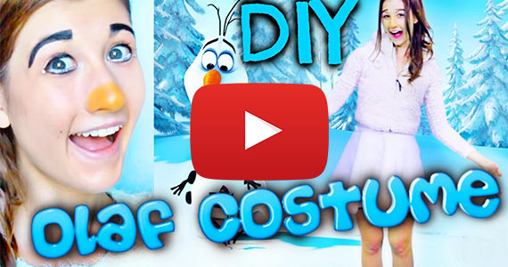 Diy Olaf From Frozen