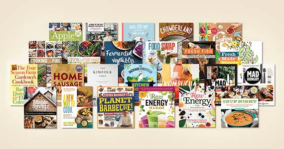 Win a Collection of Cookbooks