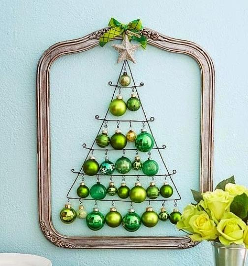 Diez ideas para hacer árboles de Navidad originales!
