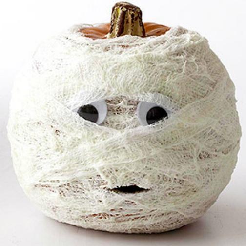 citrouille mummy