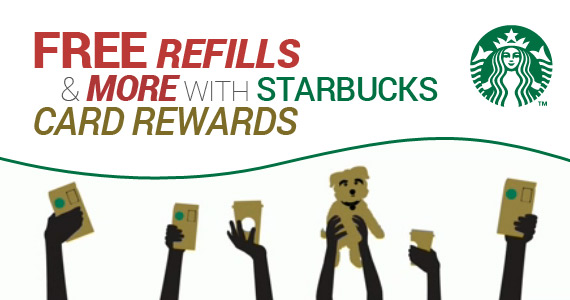 Free Refills & More with Starbucks Card Rewards
