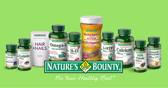 Join Nature's Bounty Healthy Rewards Program and Save