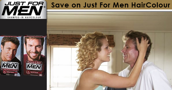 Save on Just For Men HairColour