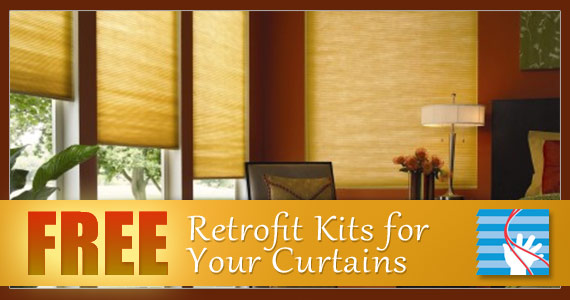 Free Retrofit Kits for Your Curtains
