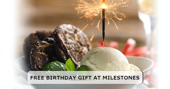 Free Birthday Gift at Milestones