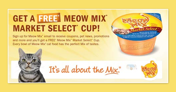 Get Meow Mix Updates & Special Offers