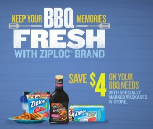 Save on Ziploc Products