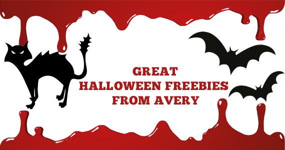 Great Halloween Freebies from Avery