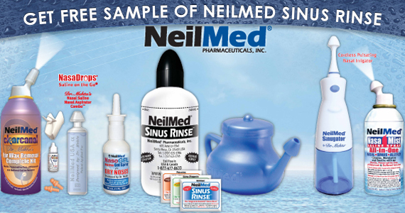 Free Sample of NeilMed Sinus Rinse