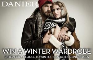 Win a Danier Winter Wardrobe