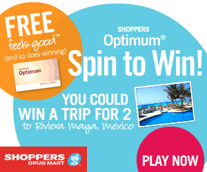 Shoppers Drug Mart Spin to Win