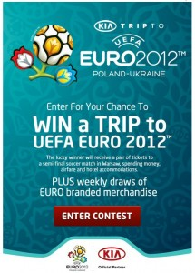 Win a Trip to the UEFA Euro with KIA
