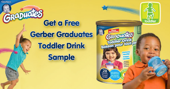 Free Gerber Graduates Toddler Drink Sample