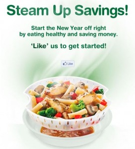 Healthy Choice Steam Up the Savings