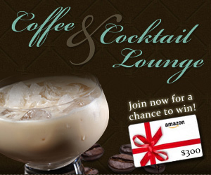 Join the Coffee and Cocktail Lounge