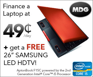 MDG Free Samsung HDTV