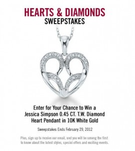 Peoples Heart and Diamond Contest