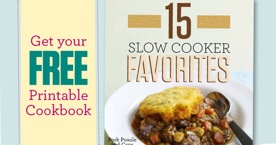 Get a Free Printable Slow Cooker Recipe Book