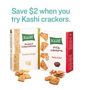 Save 2 on Kashi Crackers