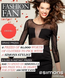 Win Clothes with Simons