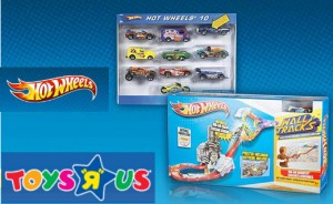 Win Hot Wheels from Toys R Us