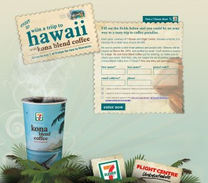 Win a Trip to Hawaii with 7 11